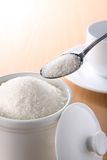 White sugar royalty free stock photo