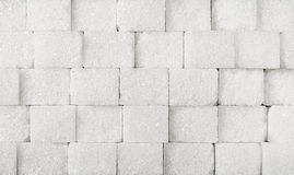 White sugar background Royalty Free Stock Images