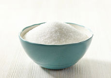 White sugar in a bowl Stock Photography