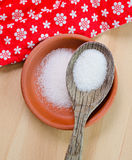 White sugar in a bowl Stock Image