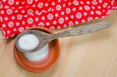 White sugar in a bowl Stock Photo