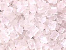White sugar crystals Royalty Free Stock Photos