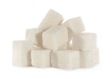 White sugar cube Stock Image