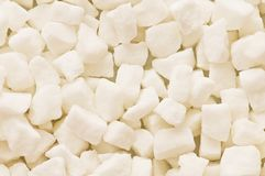 Free White Sugar Cubes Arranged Royalty Free Stock Image - 6781106