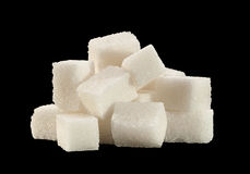 White sugar heap Stock Photo