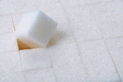 White sugar close up Royalty Free Stock Image