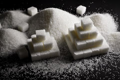 White sugar stock images