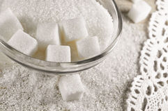 White sugar royalty free stock images