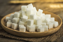 White sugar Royalty Free Stock Image