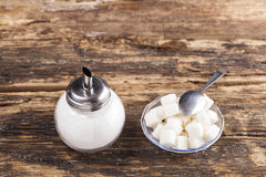 White sugar stock image