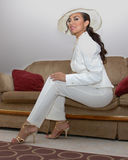 White suit Stock Photography