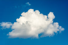 White Summer Cloud Stock Images