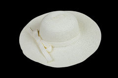 White summer hat Stock Photography
