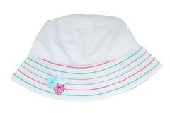 White summer panama Royalty Free Stock Image