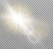 White Sunlight light Royalty Free Stock Images