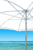 White Sunshade Royalty Free Stock Image