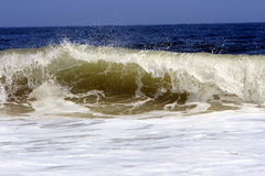 White Surf Royalty Free Stock Photo