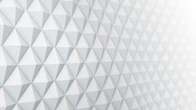 White surface waving 3D render. White surface waving. 3D rendering abstract background Royalty Free Stock Photo
