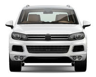 White SUV Stock Images