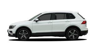 White SUV Stock Photo