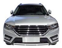 White SUV Royalty Free Stock Image