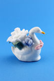 White Swan ceramic crafts Stock Images