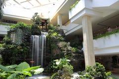 White swan hotel Royalty Free Stock Photos