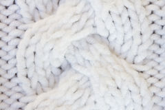 White sweater texture Stock Photo