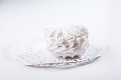 White sweet marshmallow Royalty Free Stock Photo