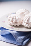 White sweet marshmallows Stock Images