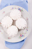 White sweet marshmallows Stock Photography
