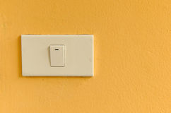 The white switch Royalty Free Stock Photo