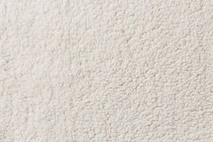 White synthetic fleece. Texture background stock photos