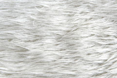 White synthetic fur Royalty Free Stock Image