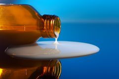 White syrup royalty free stock image