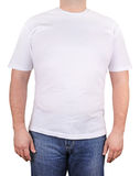 White t-shirt Stock Image