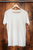 White T-shirt. Royalty Free Stock Images
