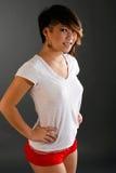 White t-shirt fashion Royalty Free Stock Image