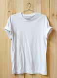 White t-shirt Royalty Free Stock Image