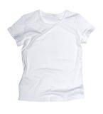 White t-shirt Royalty Free Stock Photo