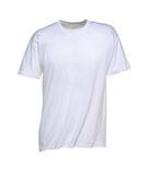 White T-Shirt for Men Stock Photos