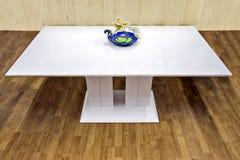 White table stock photo