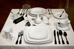White table Stock Images