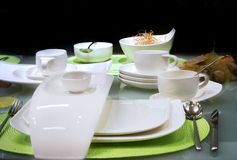 White table Royalty Free Stock Photos