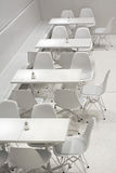 White Table and Chairs Royalty Free Stock Photography