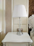 White table lamp Stock Photography