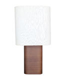 White table lamp isolated Stock Photography