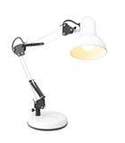 White table lamp Royalty Free Stock Photos