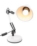 White table lamp Stock Photos