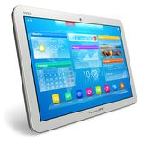 White tablet PC Stock Photography